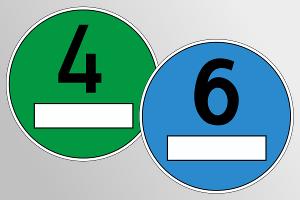 Blaue Plakette: Das Fahrverbot für Diesel unter Euro 6 wurde zunächst gestoppt.