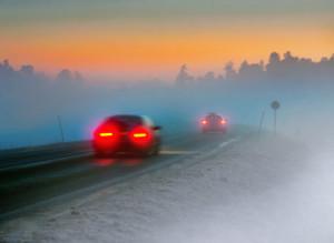 Die meisten Kraftfahrer werden wegen schlechter Sicht zum Geisterfahrer.