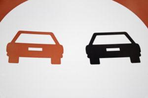 """Das Verkehrszeichen """"Überholverbot"""" gilt für alle Kfz."""